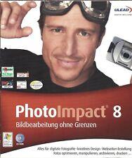 Ulead PhotoImpact 8 Mit 1 CD-ROM und 284 Seiten Handbuch