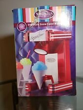 NOSTALGIA RETRO SNOW CONE MAKER MINI