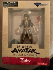 Avatar The Last Airbender ZUKO Select Toys Action Figure Cartoon Netflix