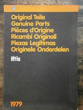 VW Ersatzteilkatalog Bildkatalog, VW Iltis Typ183, Ausg. 2/1979, neuwertig RAR !