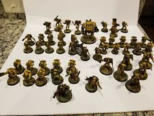 warhammer 40k forgeworld space marine army propainted imperial fist