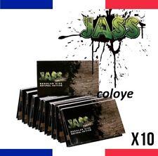 JASS BROWN REGULAR Lots 10 Carnets de Feuilles à Rouler