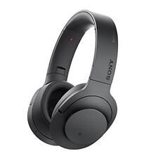 Sony Mdr100abn H.ear on Wireless Over Ear Headphones Black Music Sound Portable