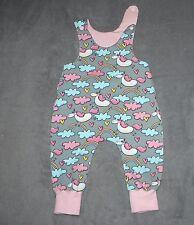 Spieler Latzhose Dawanda Jersey handmade 56/62 oder 62/68 rosa Einhorn