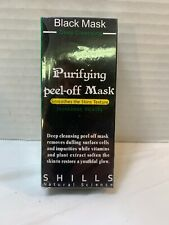 Shills purifying black peel off mask deep cleansing blackhead remover