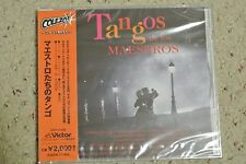 Brand New Japan CD - Tangos De Los Maestros (OBI)
