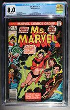 MS MARVEL #1 Captain Carol Danvers MOVIES 1977 Avengers Infinity Endgame CGC 8.0