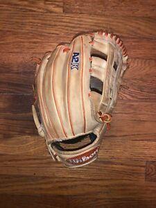 "Wilson A2K DW5 David Wright Game Model Baseball Glove, Tan/Orange/Blue,12"""