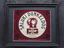 Big Muddy Saluki Dunkeldog Beer Sign #750
