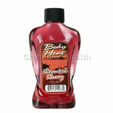 Body Heat Warming Massage Oil Lotion Lube Lubricant Edible Chocolate Cherry