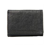 Brand New WeSC Payton Canvas Wallet Black Price £24.99