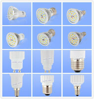 GU10/MR16/E14/E27 SMD 15 LED Lampe Licht Leuchtmittel Birne 6.5W 500lm Adapter