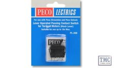 PL-26B Passing Contact Switch Black Lever Peco