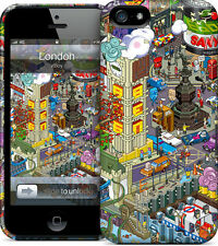 Hard Case GelaSkin- London for iPhone 5