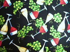 Red Wine White Wine Grapes Chefs Apron Bar B Q Seasonal Holiday Gift Handmade