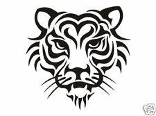 Tiger Kopf Tribal  Aufkleber Sticker Auto Tiere  m330