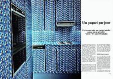 PUBLICITE ADVERTISING 0217  1978  Scholtès (2p) cuisines cigarettes Gitanes