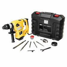 Impact Rotary Drill Hammer SDS Plus 230 V 3 Functions 1800 W Case Accessories