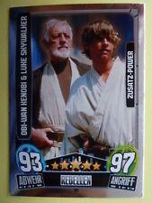 Force Attax Star Wars Serie 3 (2013 rot), Obi-Wan & Luke (197), Zusatz-Power