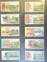 1910 John Player COUNTRY SEATS AND ARMS 3rd ser set 50 cards Tobacco Cigarette