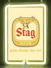Stag Beer Hub Bar Display Advertising Neon Sign