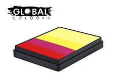Global Rainbow Cakes 50g - SPAIN professional face & body paint
