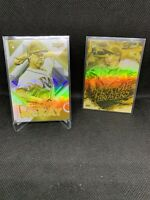2020 Topps Fire Brendan McKay Base 111 & Flame Thrower Gold Minted Parallels