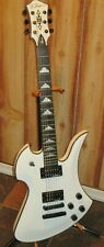 B.C. Rich Mockingbird Special X White 6 String Electric Guitar