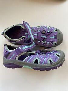 Merrell Hydro Hiker Sandals Water Shoes Purple WATERPROOF Size