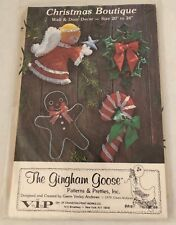 """The Gingham Goose Christmas Boutique Wall and Door Decor 20"""" to 24"""""""
