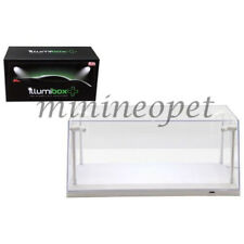 ILLUMIBOX + 14005 CLEAR DISPLAY SHOW CASE FOR 1/18 WHITE BASE with LED LIGHTS