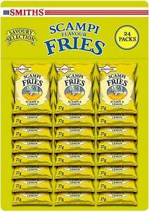 Smiths Savoury Snacks Scampi and lemon Fries Carded Pub Favorites Snacks, 27 g