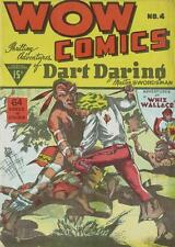 Wow Comics #4 Photocopy Comic Book, Bell Publications, Canadian, Dart Daring