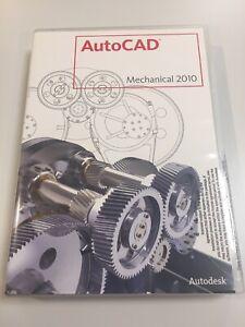 """Autodesk AutoCAD Mechanical 2010 Software  New  """"read description"""""""
