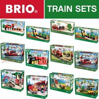 BRIO Wooden Railway Train Sets - Full Range - Choose