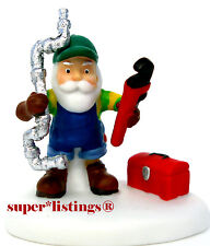 Dept. 56 Fixing Frozen Pipes North Pole Retired 2011 New 809460