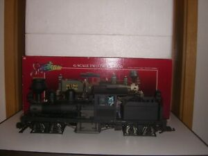 Bachmann Spectrum 2 truck Shay 36 ton Spur G undecorated