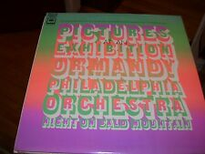 THE PHILADELPHIA ORCHESTRA PICTURES AT AN EXHIBITION NITE ON BALD MTN-LP-NM-2EYE