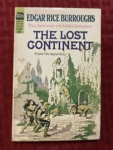 The Lost Continent By Edgar Rice Burroughs First Ace Edition F-235