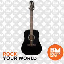 Takamine G30 Series 12 String Dreadnought Acoustic Guitar TGD3012BLK