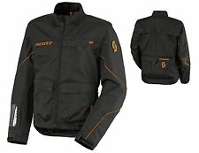 GIACCA JACKET ENDURO CROSS SCOTT ADVENTURE 2 NERO ARANCIONE ORANGE TG L
