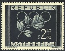Austria 969 (complete issue) with hinge 1952 Olympia