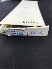Carbon Film Resistor CR-25-T 1/4WJ 750K OHM - Approx 800 pcs LOT
