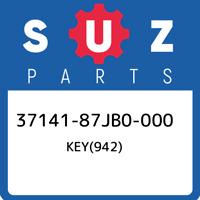 37141-87JB0-000 Suzuki Key(942) 3714187JB0000, New Genuine OEM Part