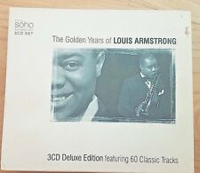 3 CD deluxe edition GOLDEN YEARS OF LOUIS ARMSTRONG Music NEW BIRTHDAY GIFT