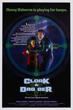232101 CLOAK & DAGGER 1984 MOVIE WALL PRINT POSTER FR