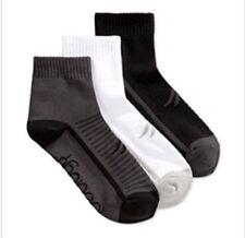 Ideology Women's Quarter Performance Socks 3 Pack White/Grey/Black Size 9-11