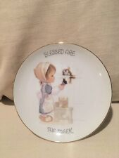 """Precious Moments 7� Plate """"Blessed Are The Meek�"""