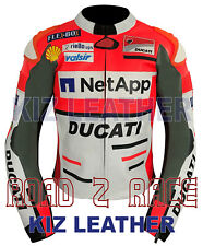 Ducati Motorbike Racing Cowhide Leather Jacket ( Team 2018/19 ) MOTO GP
