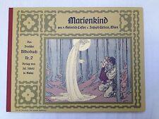 Scholz Verlag Mainz Marienkind Bilderbuch Nr.2 Jugendstil neu!!